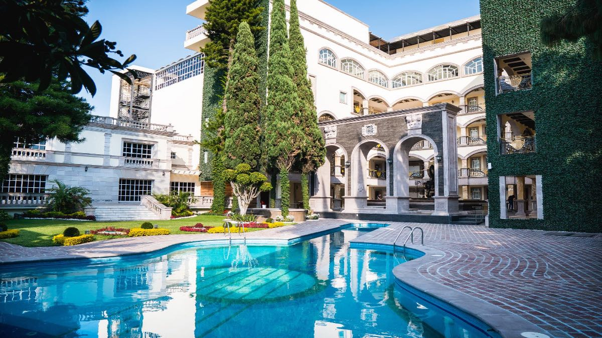 Hotel Mansión Solís, Morelia. Foto: Archivo