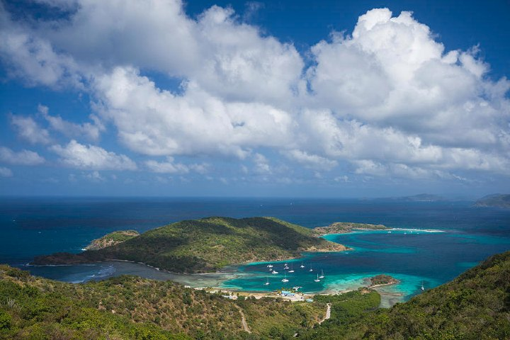 Jost Van Dyke en las Islas Vírgenes Británicas. Foto: Fine Art America