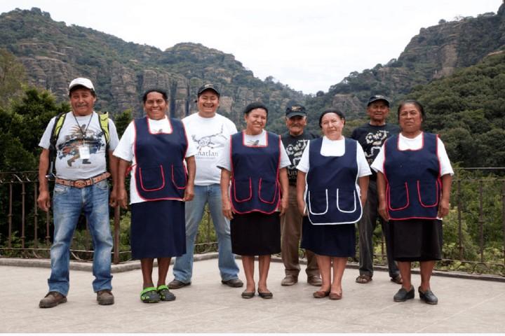 La comunidad que le da vida a Temachtiani Quetzalcoatl. Foto: Tazimor