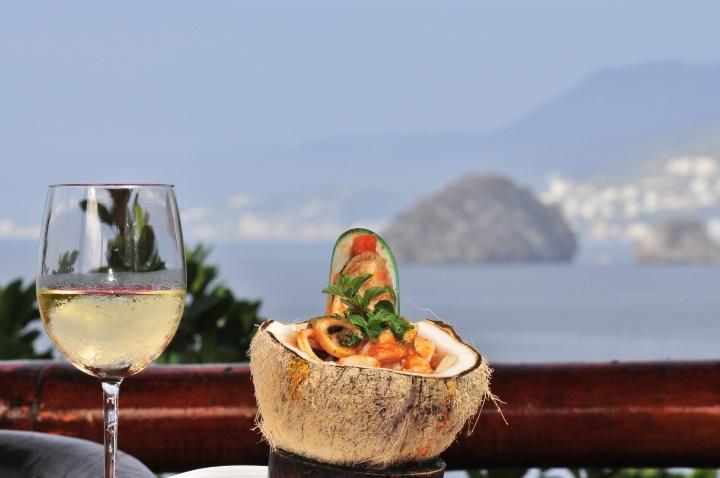 La gastronomía de Puerto Vallarta es exquisita. Foto: Archivo
