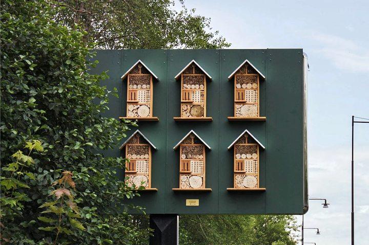 Las abejas tienen un McDonald's a dónde llegar. Foto: Food & Wine