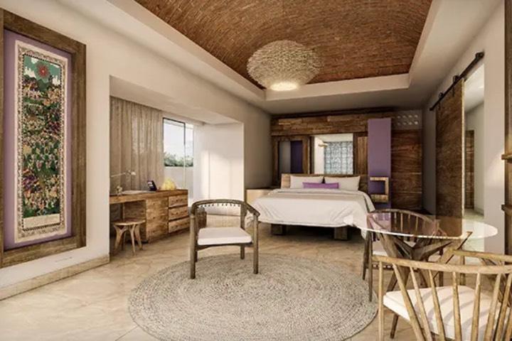 Las habitaciones tienen una decoración sofisticada y elegante. Foto: Hotel Xcaret Arte