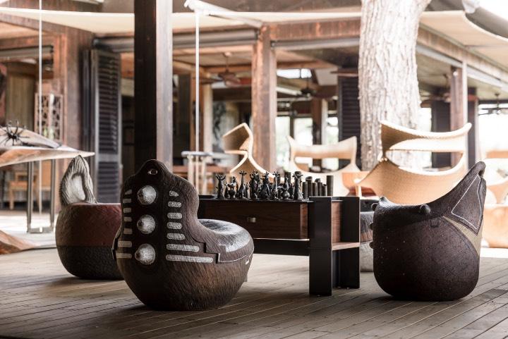 Los diseños son originales de artistas africanos ¡Y son espectaculares! Foto: Archivo