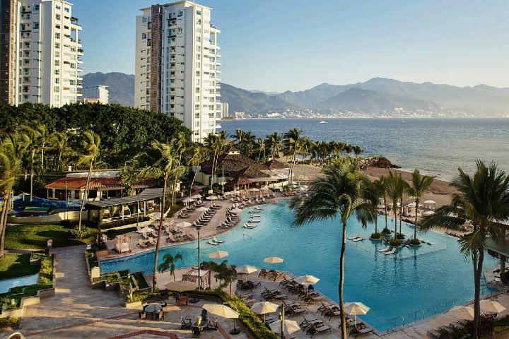 Marriott Puerto Vallarta Resort & Spa es parte de los hoteles que hacen a Puerto Vallarta el mejor destino LGBT+. Foto: Archivo