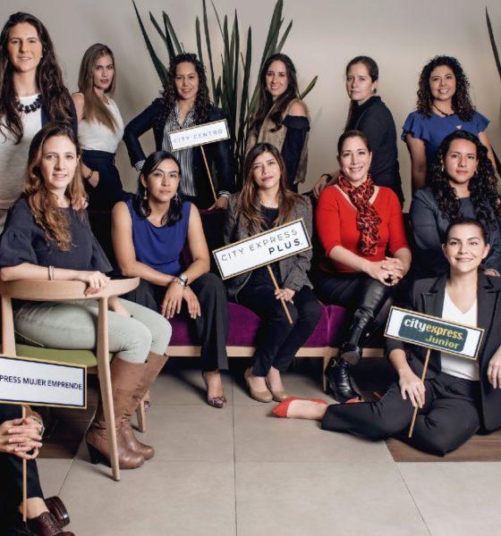 Mujeres en el sector turístico que laboran desde City Express. Foto: Archivo