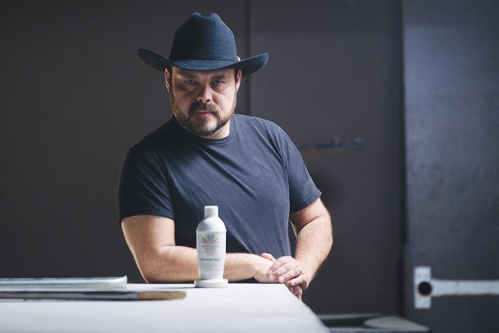 Oscar Olvera, mixólogo chihuahuense. Foto: Archivo