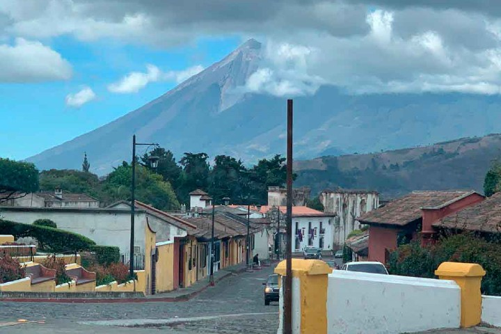 Estas son las comunidades aledañas al volcán. Foto: Buzos
