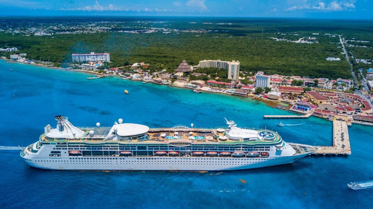 Royal Caribbean International se reactiva en sus cruceros en Cozumel. Foto: Archivo