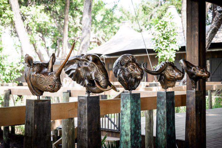Siéntete en África en todo momento en Xigera Safari Lodge. Foto: Archivo
