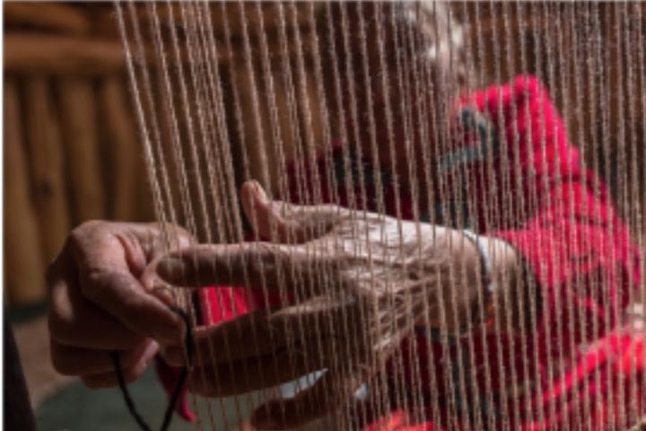 Textiles navajo. Foto: Archivo