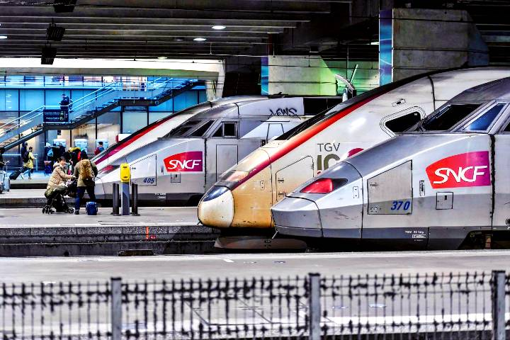 Trenes bala en Francia. Foto: El Universo