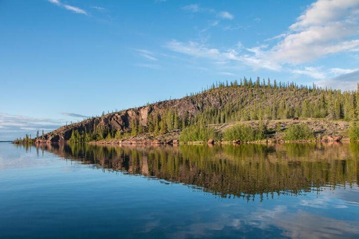 Una de las experiencias románticas en Canadá se vive en este lugar. Foto: Corey Myers