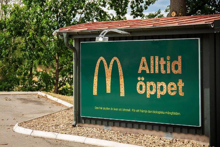 Una labor de verdadero compromiso tiene este McDonald's para abejas. Foto: Criatura Creativa