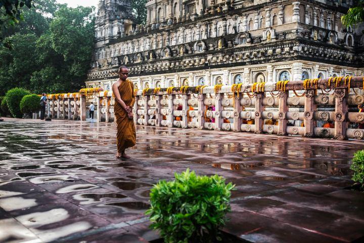 Podcast de meditación en la India