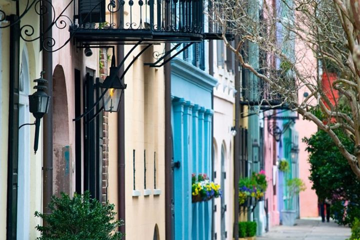 Las calles de Charleston, Carolina del Sur, EE. UU. son demasiado coloridas. Foto: Mark Hemmings