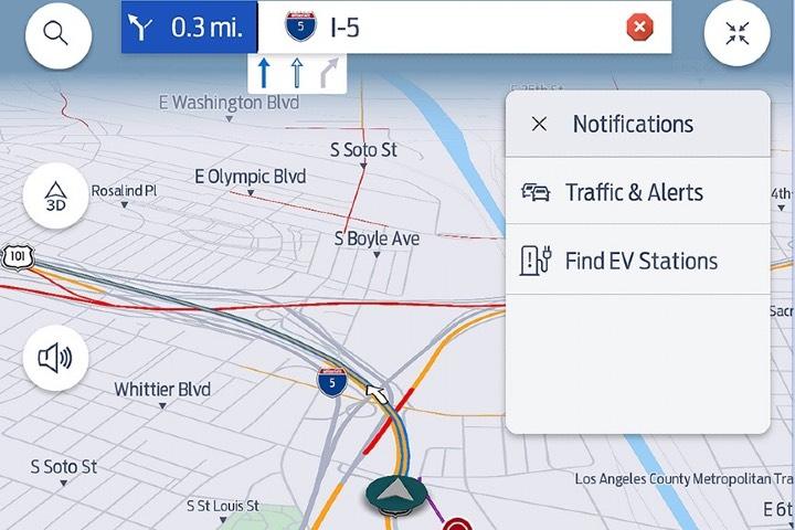 Captura de pantalla de una de las aplicaciones de Ford. Foto: Archivo