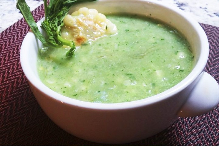 El chileatole es una bebida que forma parte de la mixología de Puebla, pero también es una comida. Foto: Pinterest