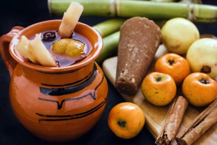 El ponche de pulque es delicioso. Foto: Cubo Informativo
