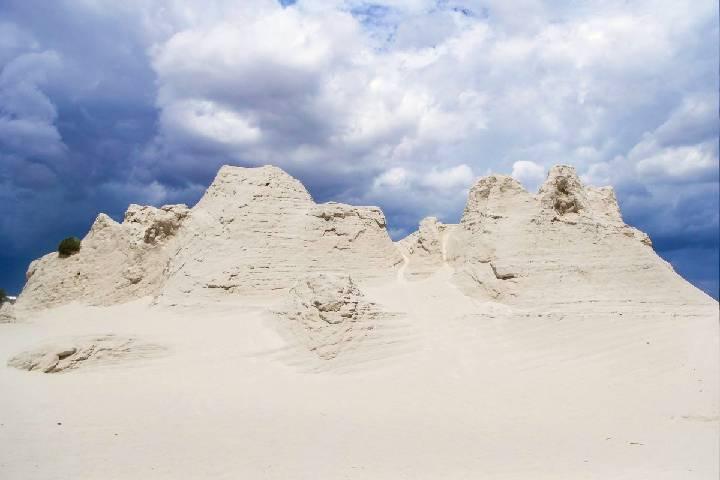 Las Dunas de Yeso en Coahuila son un paraíso que debes conocer. Foto: La poesía del viaje