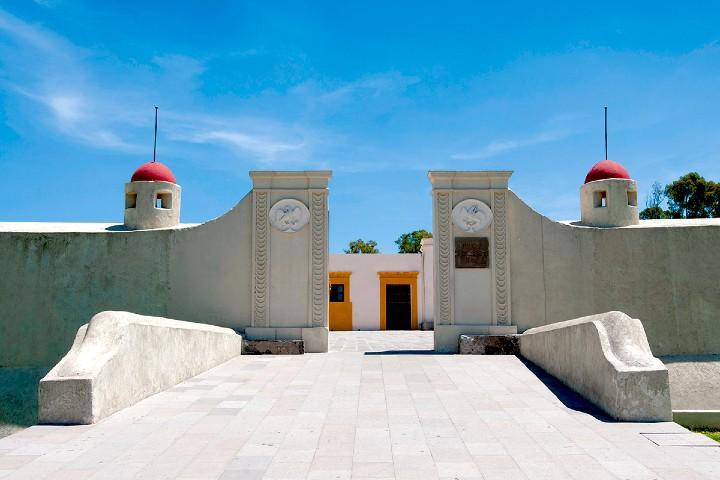 Entrada al Fuerte de Loreto. Foto: WMedia