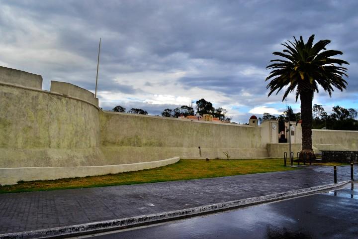 Murallas del Fuerte de Loreto. Foto: WMedia