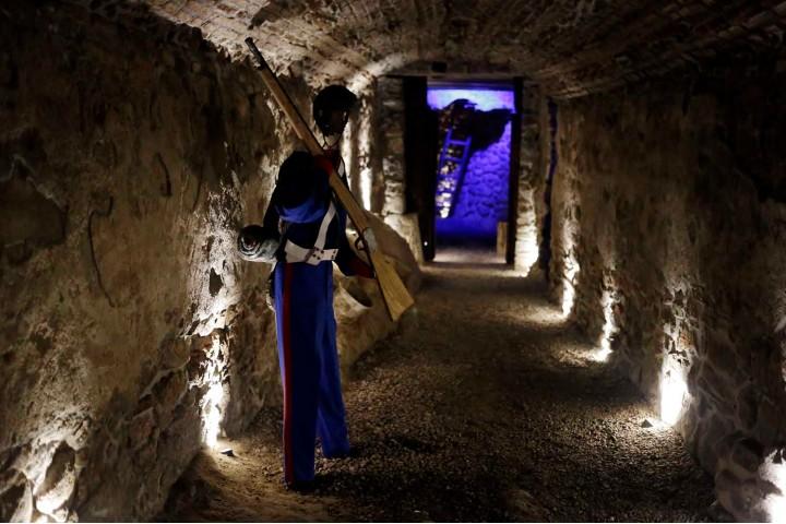 En los Fuertes de Loreto y Guadalupe podrás ir por un túnel lleno de historia. Foto: Poblanerías