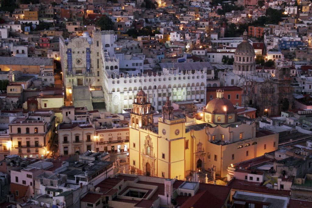 Lugares impresionantes en México. Guanaguato. Foto: Wikipedia