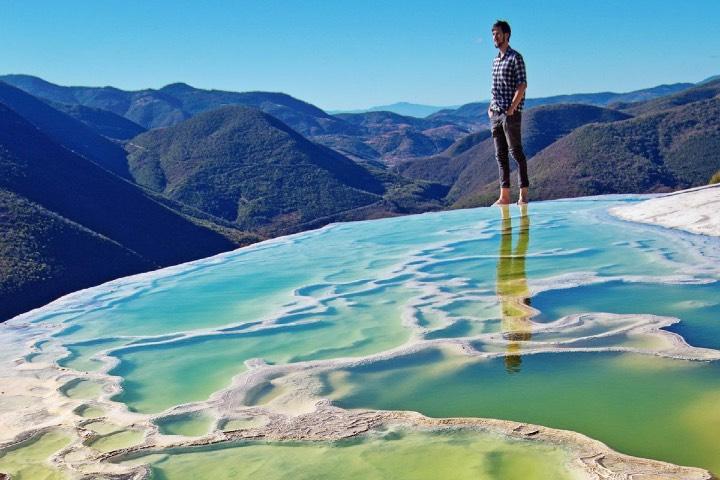 Hierve el Agua en Oaxaca. Foto: México Desconocido
