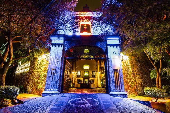 Hotel en Cuernavaca. Foto: anticavillahotel.com