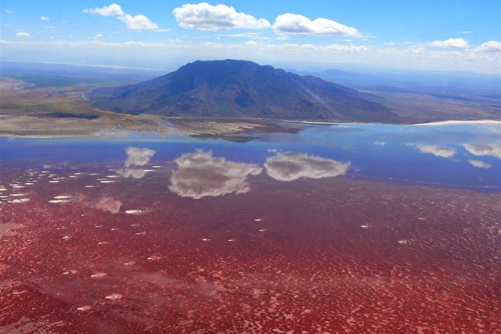 Un lago hermoso, pero que sugerirte en él involucra un gran peligro. Foto: BP