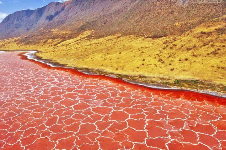 Así se ve el lugar en época de sequía. Foto: Twitter