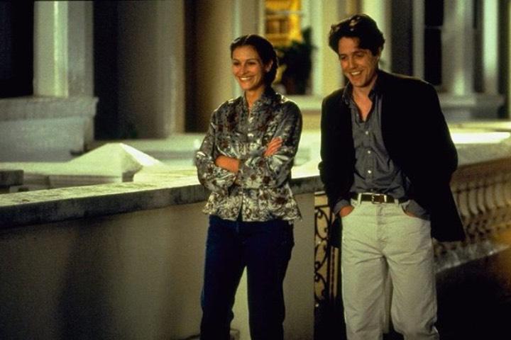 Las calles de Notting Hill son uno de los destinos de películas románticas en donde tendrás grandes recuerdos. Foto: Archivo
