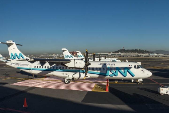 Los aviones ATR son espectaculares. Foto: Archivo