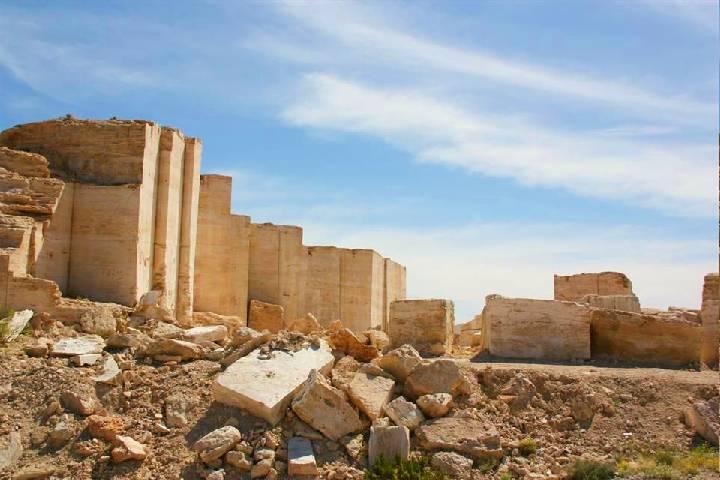 La mina de mármol funciona como un sitio turístico ¡Disfrútala! Foto: | sitio web