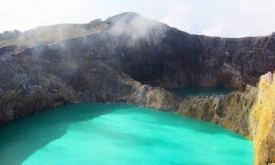 Lagos cambiantes del Volcán Kelimutu. Foto: Jane Francisca