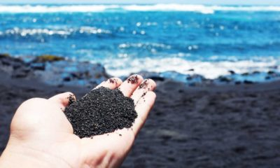 Punaluu Black Sand Beach. Foto: Archivo
