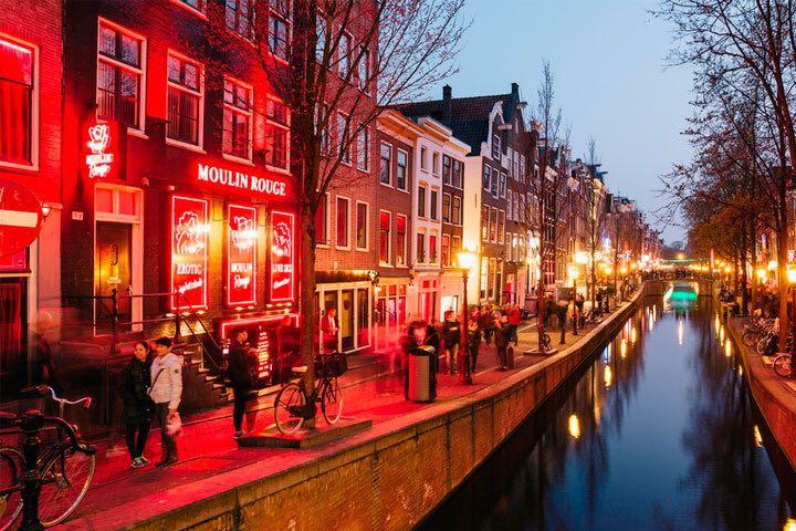 Zona Roja. Foto: La Guía de Amsterdam