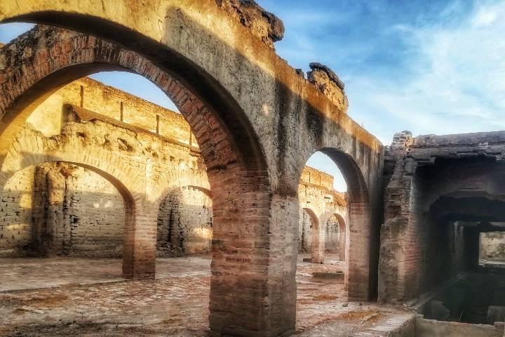Adentros de la Hacienda de Jaral de Berrio- Foto Luis Juárez J.