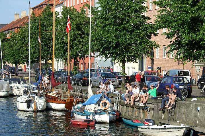 Ciudad de Copenhague. Foto Maman Voyages