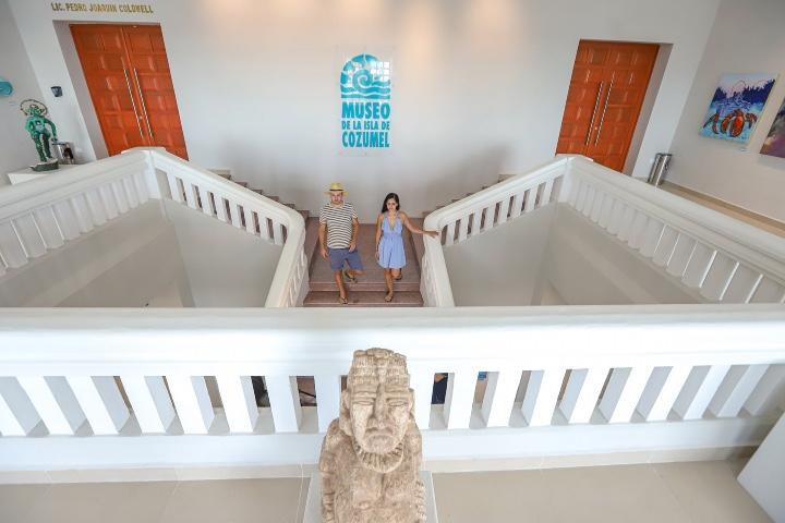 Descubre parte importante de México en los museos del Caribe Mexicano. Foto: Escapadas