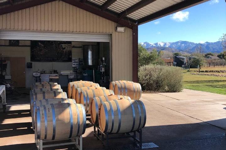 Disfruta de un recorrido por los viñedos Keeling-Schaefer en Willcox. Foto: Open Table