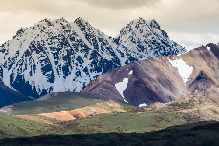 El Parque Nacional Denali te invita a vivir un día lleno de aventura salvaje. Foto: Brand USA