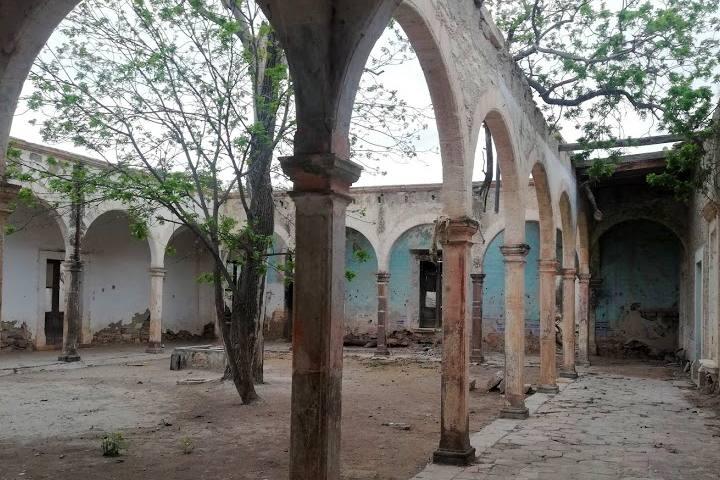 Ex Hacienda de Guanamé - Foto Luis Juárez J