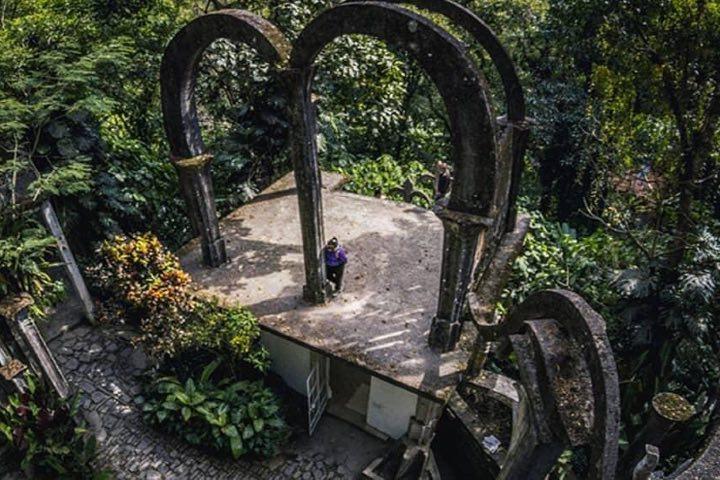Fascinante con la arquitectura el Jardín Escultórico Edward James. Foto: Experiencias MX