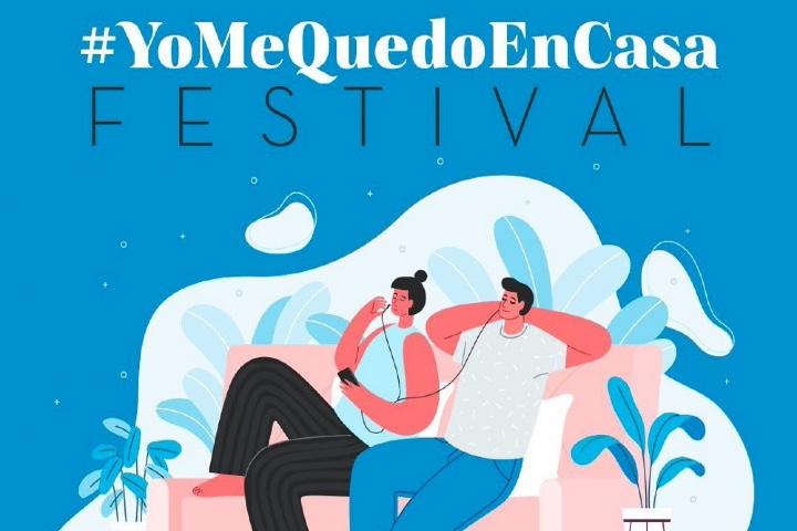Festival YoMeQuedoEnCasa. Foto: Córdoba Buenas Noticias