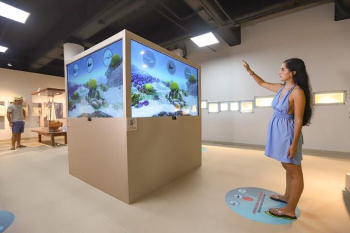 Interactúa en el Museo de la Isla de Cozumel mientras conoces la historia de la misma. Foto: Escapadas
