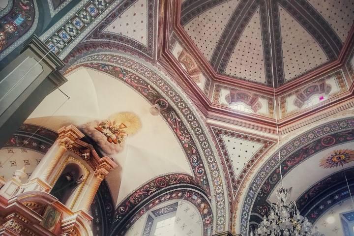Interior de Iglesia de San Diego - Foto Luis Juárez J.