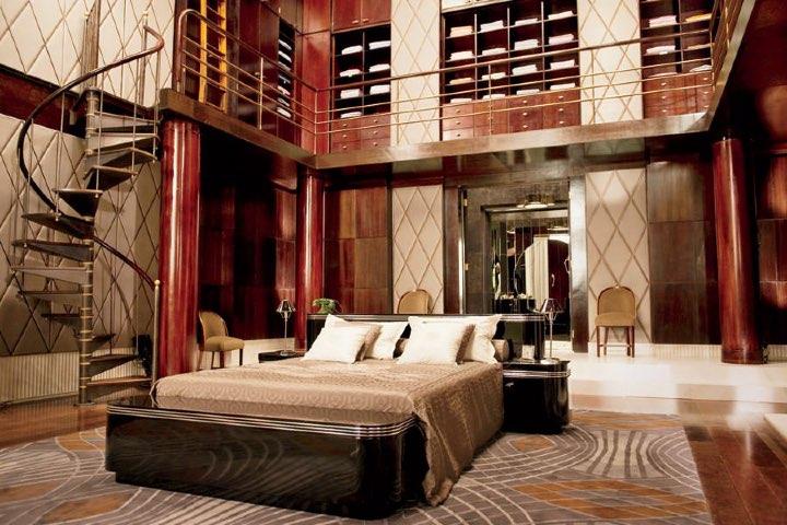 La habitación dentro del Hotel Plaza se inspira en la década en la que se lleva a cabo la historia del libro. Foto: Papeles de los 70