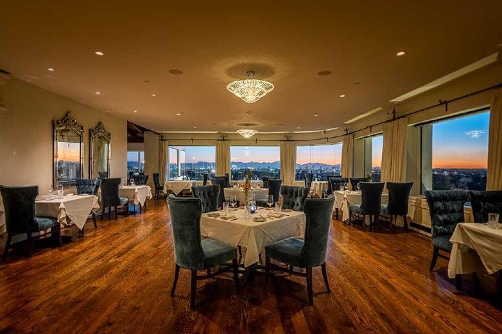 La mansión ahora funciona como un restaurante. Foto: Wrigley Mansion
