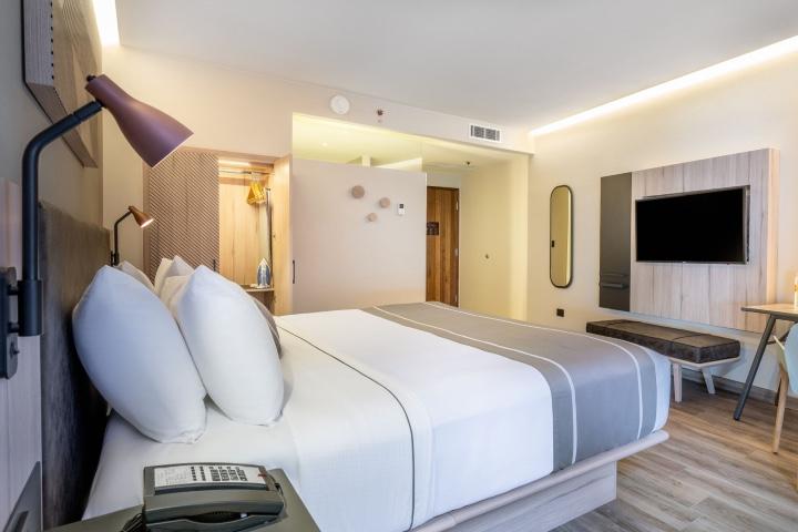 Las habitaciones del nuevo hotel de City Express en San Luis Potosí te darán el descanso que necesitas. Foto: City Express